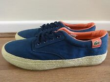 Lacoste Live Barbados ESPA shoes sneakers Navy uk 8 eu 42 us 9 NEW +TAGS