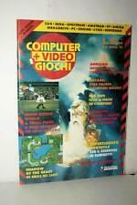 RIVISTA COMPUTER+VIDEOGIOCHI NUMERO 4 APRILE 1991 USATA ED ITA VBC 50475
