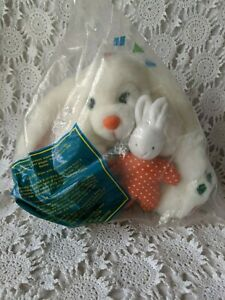 Avon-Kids-Giggling-Mom-And-Baby-Bunny-1995-NOS