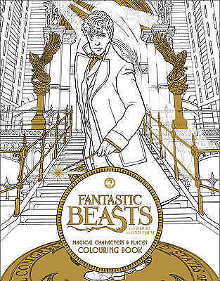 1 of 1 - Fantastic Beast_Colouring1_Tpb  BOOK NEW