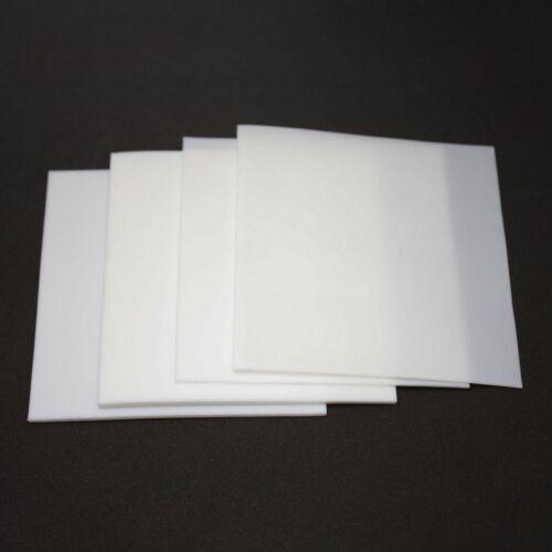 New 0.5//1//2//3//4//6mm Thick PTFE Film Sheet High Temperature Plate Plastics