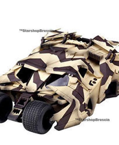 Batman - sci - fi revoltech n.043ex batmobil baratte camo version kaiyodo