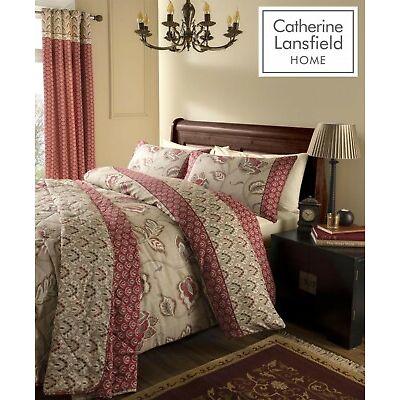 Catherine Lansfield Kashmir 200 Thread Count Cotton Rich Duvet/Quilt Cover Set