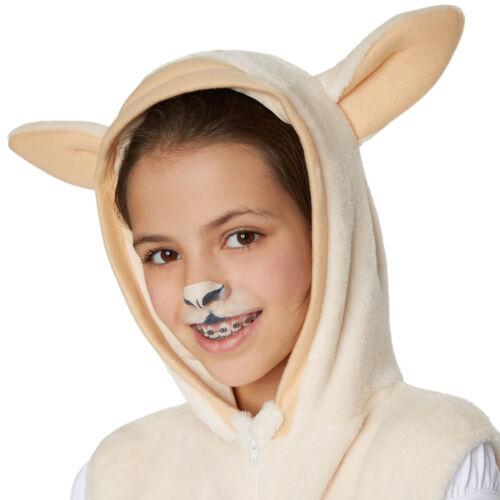 Kinderkostüm Schaf Schafe Tier Karneval Fasching Halloween Jungen Mädchen Junge
