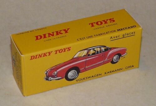 24M Boite neuve pour Dinky Toys VW Karmann GHIA