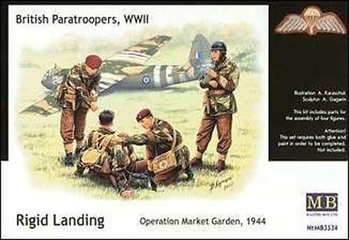 MB Masterbox - British Paratroopers Britische Fallschirmjäger Bausatz - 1:35 NEU