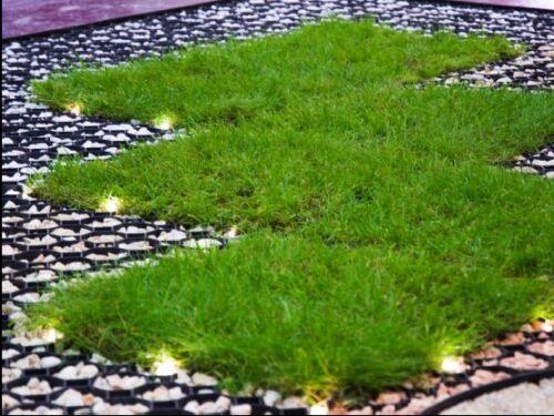 18 m² Rasengitter Paddockplatte 50x50 cm Reitplatzmatten Rasenmatten Rasenwaben