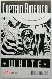 Captain America White 1 Diamond Retailer Variant NM Tim Sale 2015 Marvel Comics