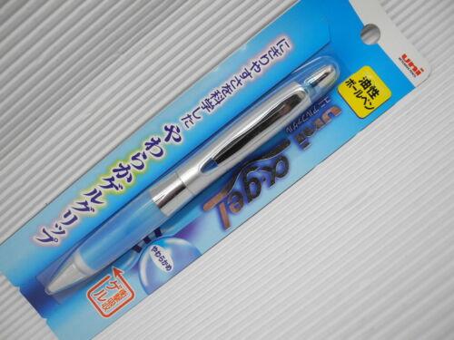 Blue Uni-Ball Alpha Gel SD-617GG 0.7mm fine ballpoint pen free 1 black refill