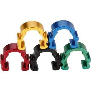 5x-Aleacion-Hidraulico-Funda-c-clips-Cable-de-freno-abrazaderas