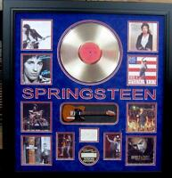 Authentic Bruce Springsteen Signature With Gold Album Lot 1895715