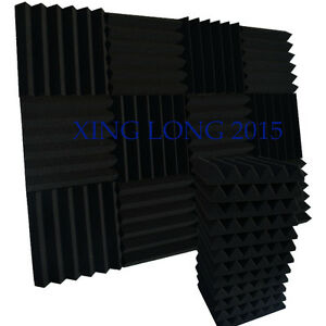 12-Pack-Acoustic-Wedge-Studio-Foam-Sound-Absorption-Wall-Panels-2-034-x-12-034-x-12-034