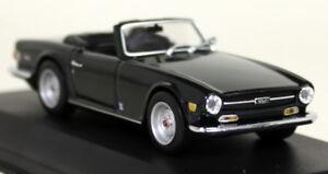 Minichamps 1/43 Echelle 430 132571 Triumph Tr6 Roadster 68/76 Vert de Course Modèle 4012138017542