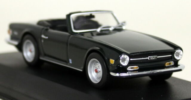 Minichamps 1968 Triumph Tr6 Roadster British Racing Green 143 Ebay