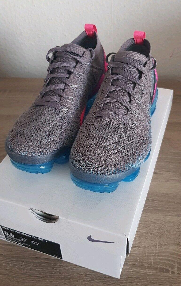 Nike 42 Vapormax Flyknit 2 Gr. 42 Nike Grau/Blau Air Max Nikelab f7604b