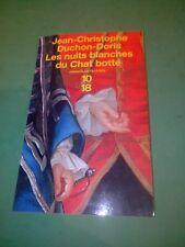 Blanches Jean Les Botte Chat christophe Du Nuits Duchon doris H92DWEI