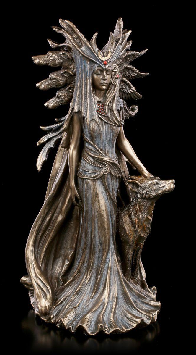 Hécate Figurine - Wicca Sorcellerie Magie Spirit Statue Veronese Déesse