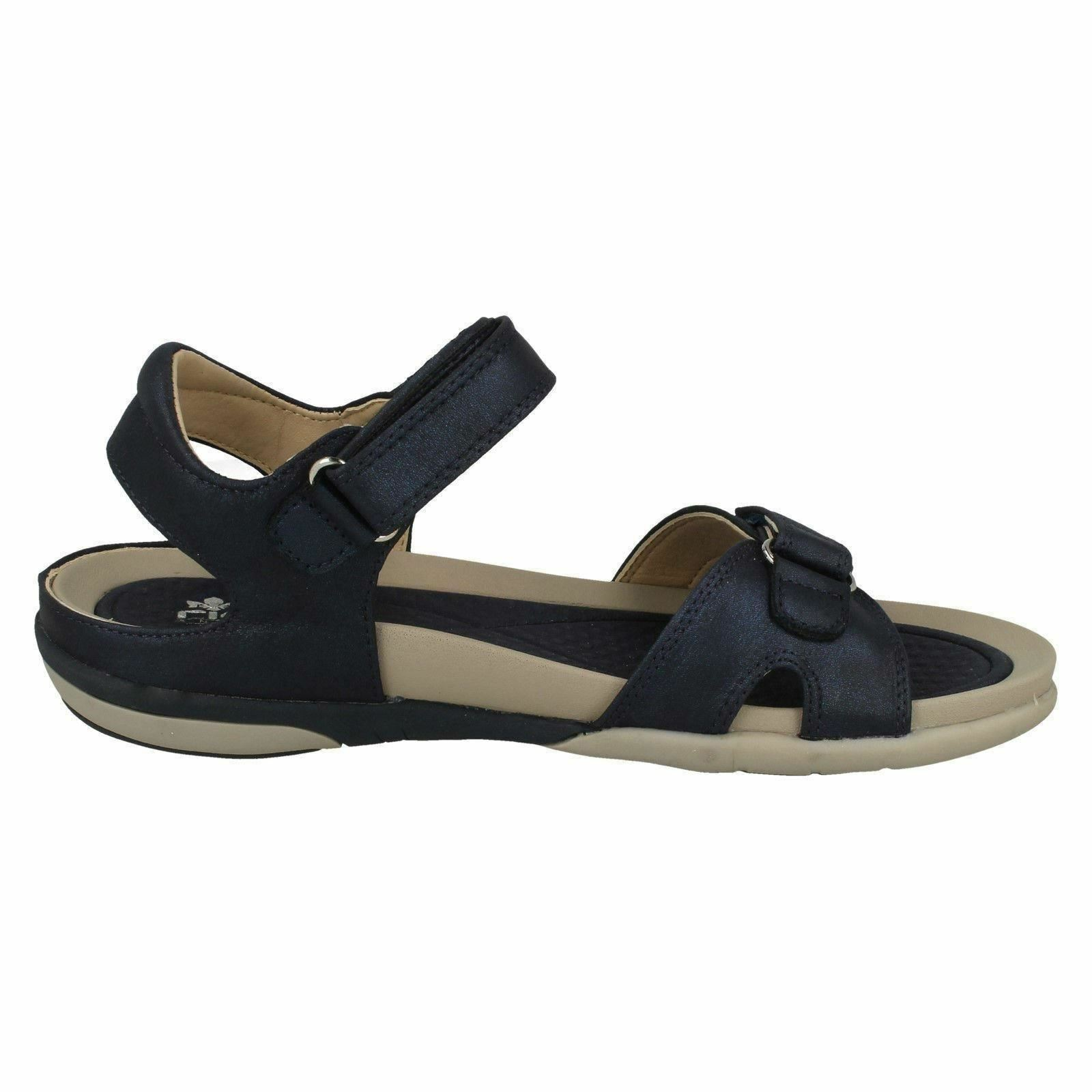 V9462  TOE RIEKER WOMENS LADIES OPEN TOE  CASUAL SUMMER SANDALS BEACH SHOES SIZES 40bad7