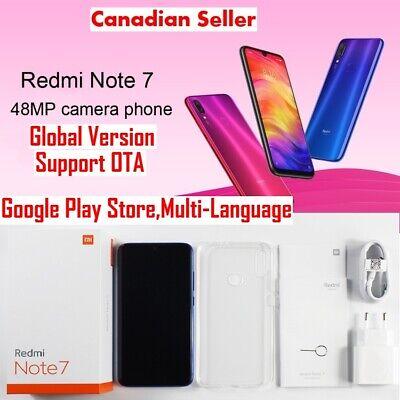 GLOBAL VERSION Xiaomi Redmi Note 7 Smartphone 64GB OctaCore 4G 48MP Camera  Black   eBay