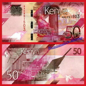 KENIA-KENYA-50-Shillings-2019-Pick-New-SC-UNC