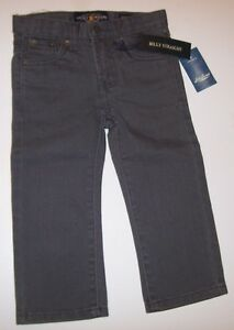 NEW-LUCKY-BRAND-gray-denim-jeans-pants-adjustable-Billy-straight-leg-2T-or-3T