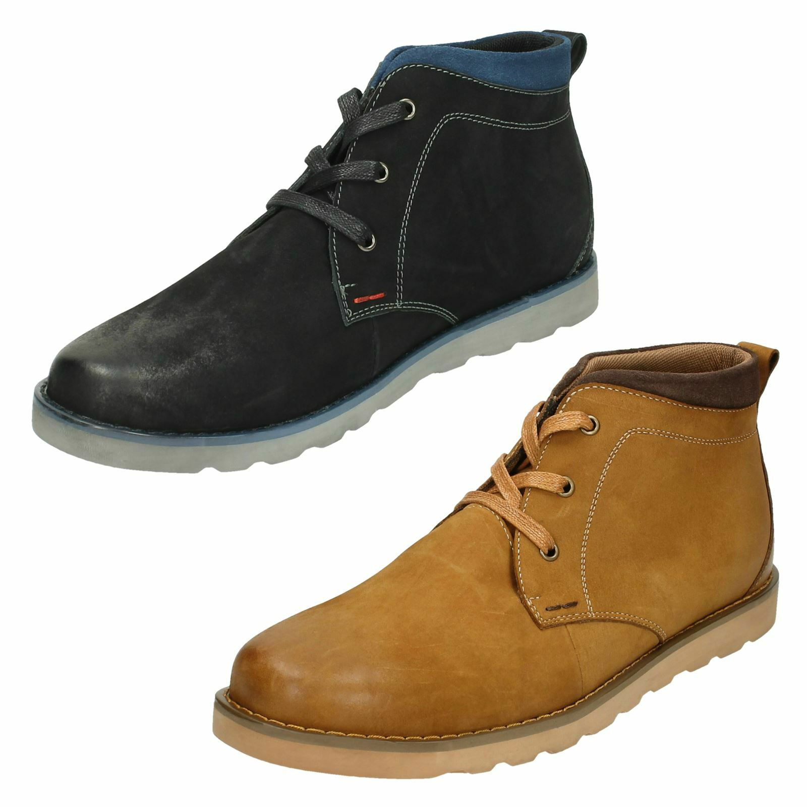 Mens Thomas Blunt Ankle Boots - Casual