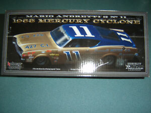 11 Mario Andretti 1968 Mercury Bunnell Moteur Co.nascar Legends 0.1cm Stock