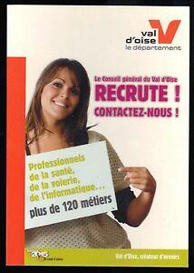 Postal-publicidad-El-Consejo-De-General-Val-d-039-Oise-de-reclutamiento-1312