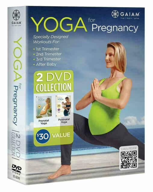 Prenatal Yoga With Shiva Rea Gaiam Dvd Very Good For Sale Online Ebay
