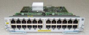 HPE-Aruba-J9986A-24-port-10-100-100base-Tpoe-v3-zl2-Module