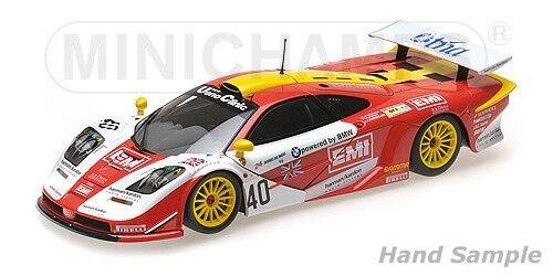 Minichamps - MCLAREN F1 GTR EMI O'ROURKE/SUGDEN/AUBERLEN 24H LE MANS 1998 1/18
