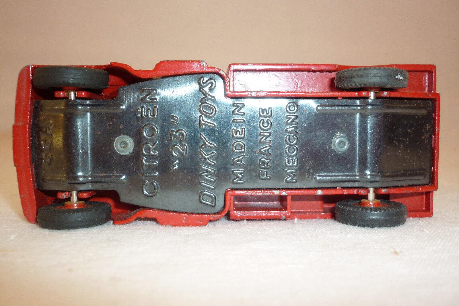 DINKY TOYS - - - VINTAGE METALLMODELL - CITROEN SERVICE - NO REPLIKA  (DINKY-T-63) 5afc98