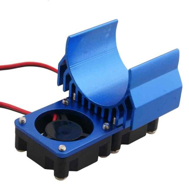RC 1/10 540/550 Motor (3650) Alum Heat Sink DC5V Dual Fan Cooling HSP Navy Part