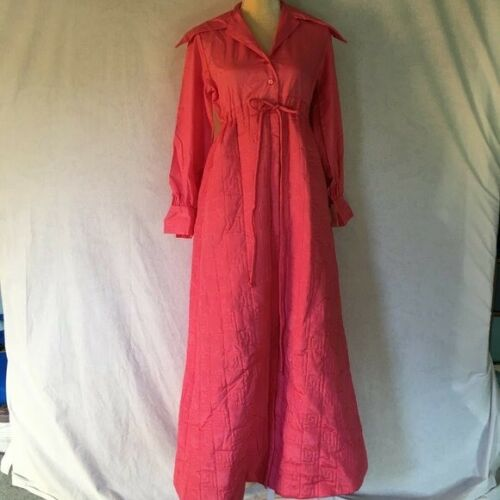 Vintage Loungees Pink Housedress Deadstock