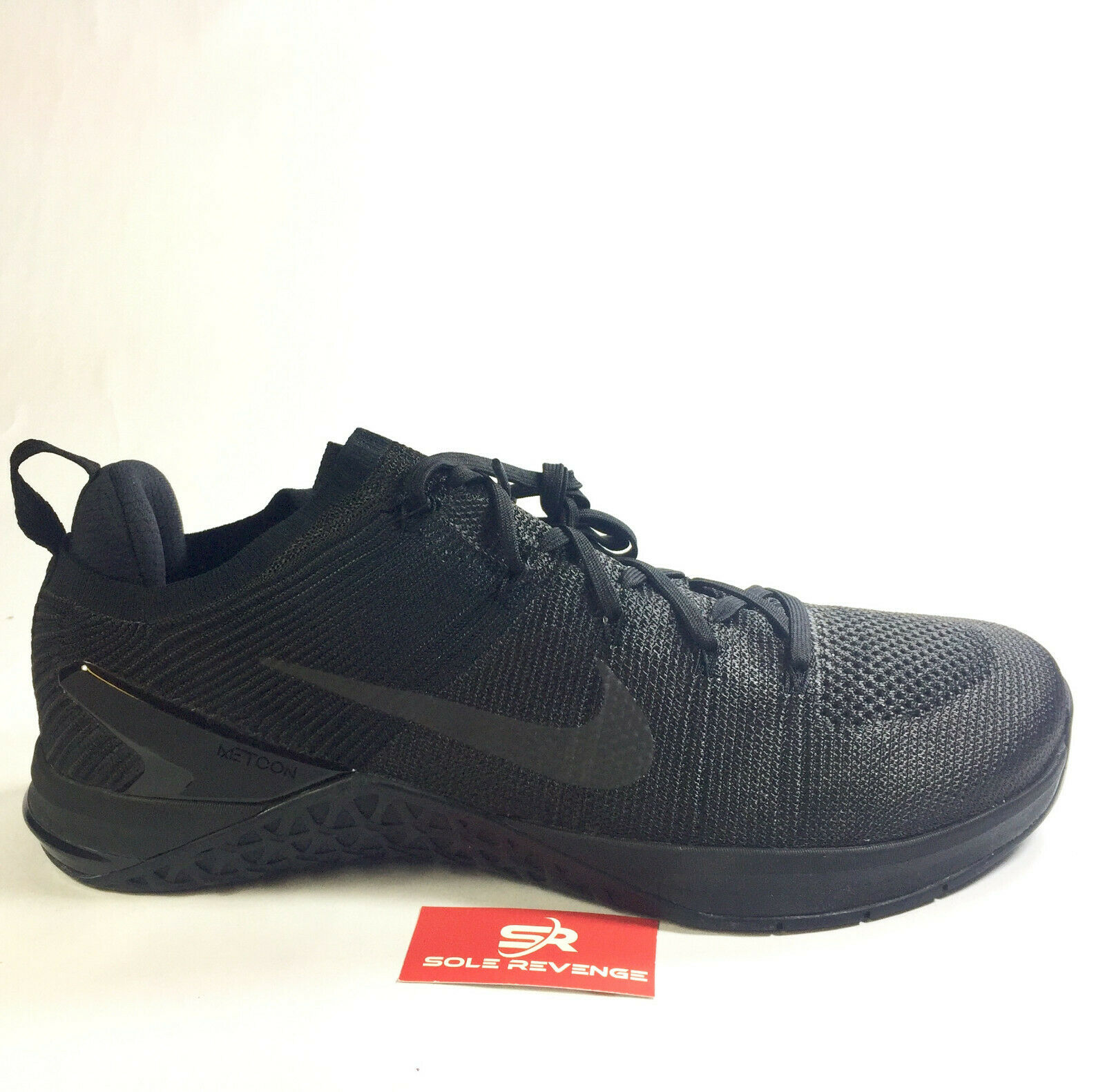 NEW Nike Metcon DSX Flyknit 2 - Men's Triple Black Training shoes 924423-004