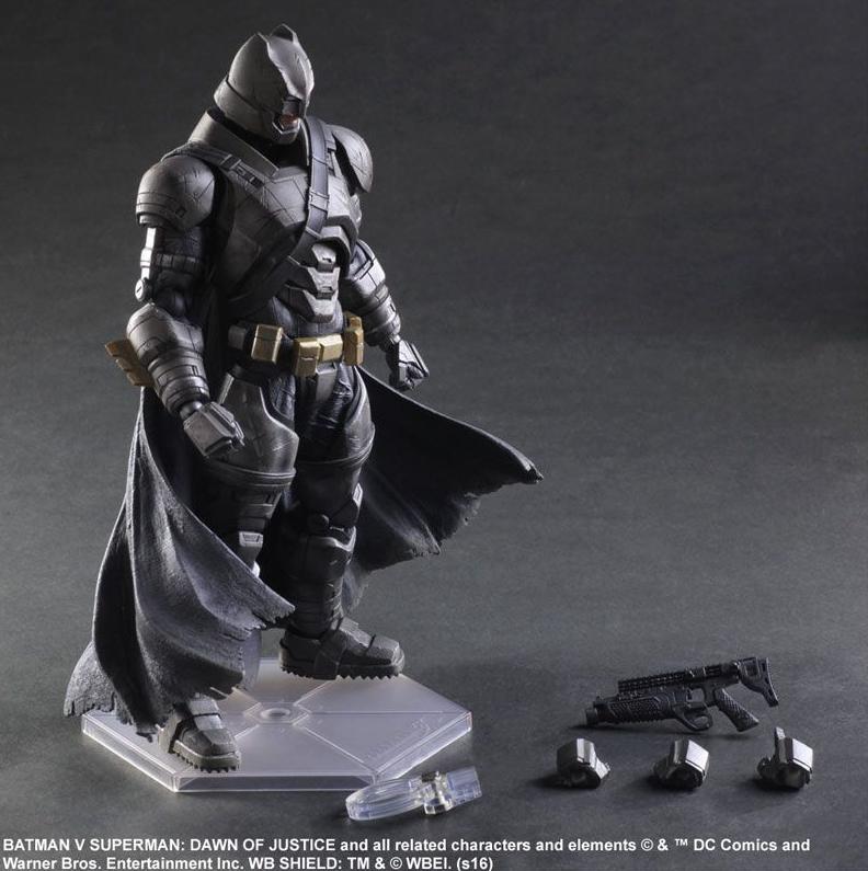 DC Square Enix Play Arts Kai Batman v Superman Armoruge Batman Action Figure