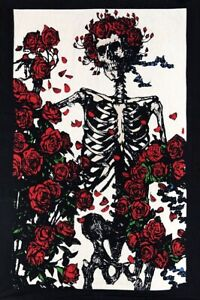 New Mini Bertha And Roses 30x45 Quot Grateful Dead Tapestry