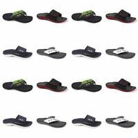 Oakley Supercoil Sandals Flip Flops Black Green Size 14