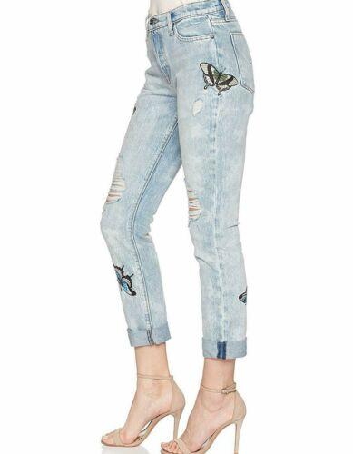 Con Nuova Sovrana Etichetta Jeans Sz26 Dritto Ricamo Relax Hudson Riley Corto q6HdO6r