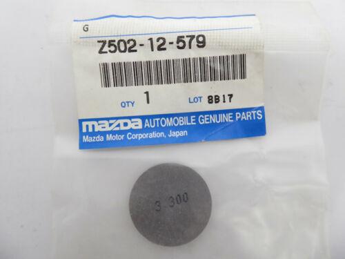 1x Mazda Z502-12-579 Ventileinstellscheibe Einstellscheibe Scheibe 3.300mm NEU