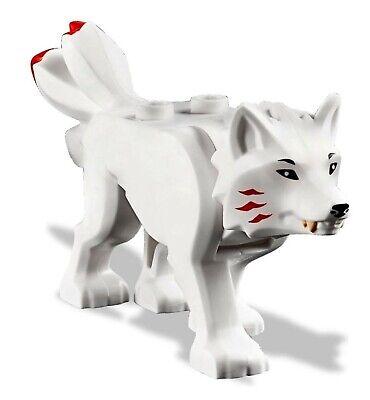 Genuine LEGO NINJAGO WHITE LLOYD/'S WOLF mini figure from 70671