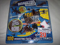 Discovery Kids, Disgusting Facts Kit,10 Disgusting Facts, Over 20 Gross Things