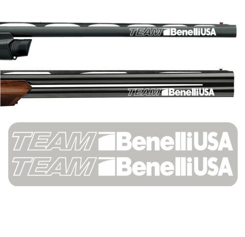 2x Team Benelli USA Vinyl Decal Sticker