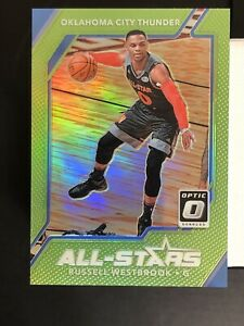 Russell-Westbrook-2017-18-Donruss-Optic-All-Stars-Lime-Green-Prizm-175-MINT