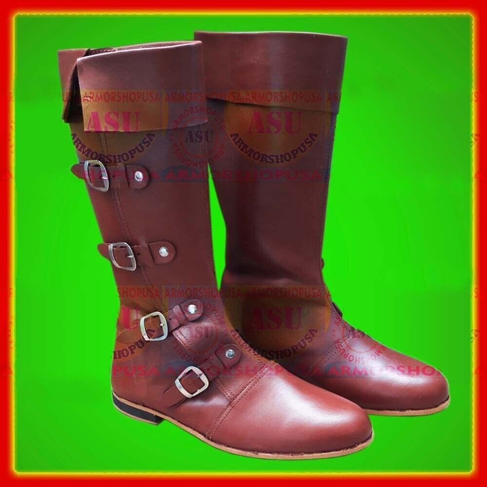 Accurate Footwear for Medieval and Renaissance Re-enactors Boots Mens Shoes