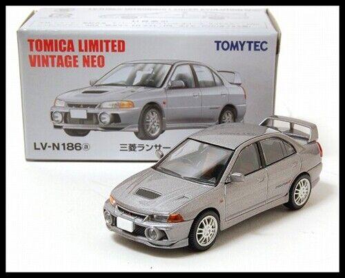 Tomica Limited Vintage NEO LV-N186a MITSUBISHI LANCER GSR EVOLUTION 4 IV 1//64