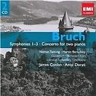 Max Bruch - Bruch: Symphonies 1-3; Concerto for Two Pianos (2009)
