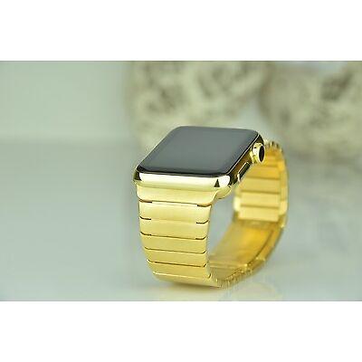 Apple WATCH 24K Limited Gold EDITION 38mm 24 Karat ECHTGOLD Gliederarmband GOLD
