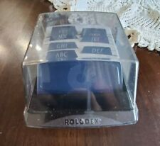 Vintage Rolodex S310 C Petite Phone Numbers Business Card File Box New Cards