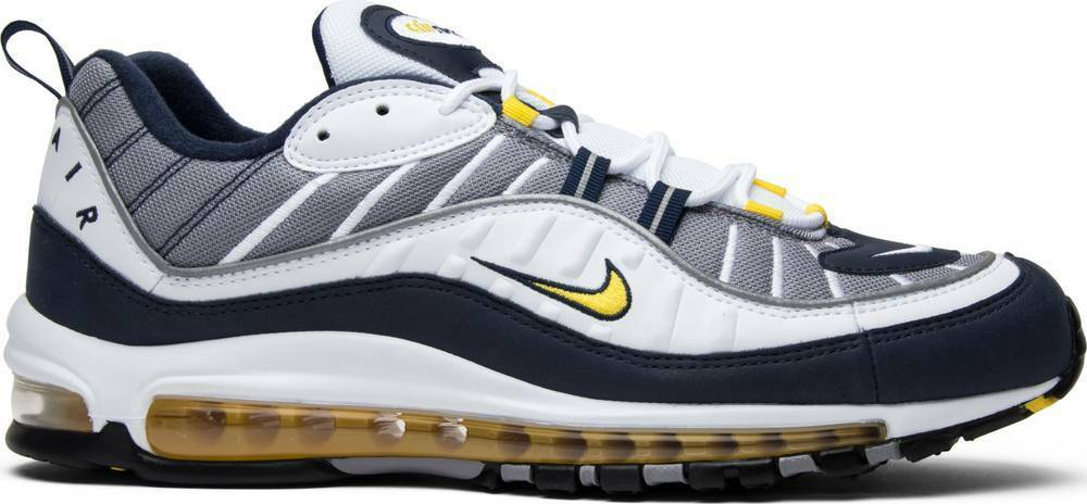 low priced 5e583 34156 Azul Max Nike 640744 Blanco Zapatos Hxzspxq Air Tour 98 105 Amarillo  BOggq5InX